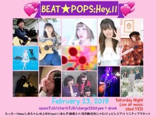 『ビート☆ポップス:Hey.11』