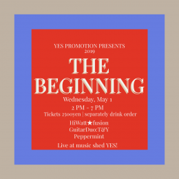YES PROMOTION PRESENTS『THE BIGINNING』
