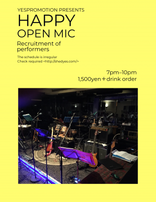 Happy Open Mic