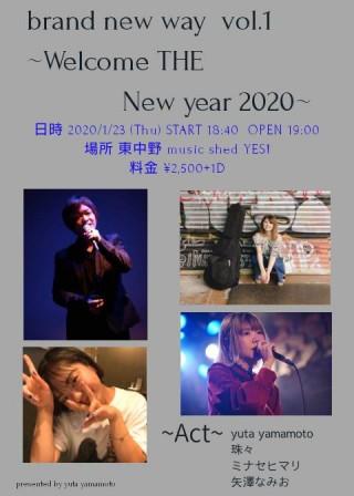 "[Reserved] yuta yamamoto presents ""brand new way"""