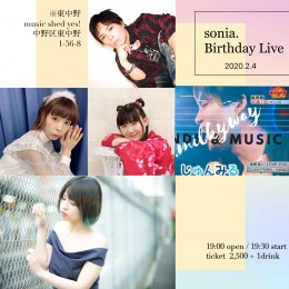 [Reserved] sonia. Birthday Live