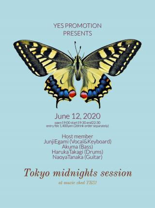 [NightTime] Mudia配信ライブ『Tokyo midnights session #2』